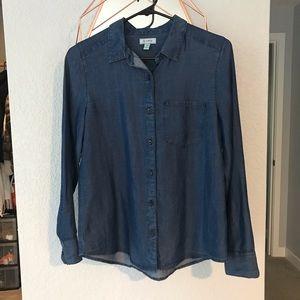 EUC Susina tencel no wrinkle blouse XS Nordies